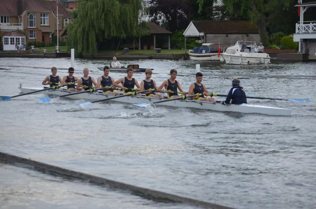 Tulsa Youth Rowing Association races in the Thames Cup at Henley Royal Regatta