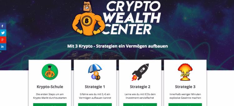 crypto wealth center einblick