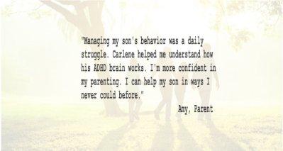 Parent Coaching Testimonial