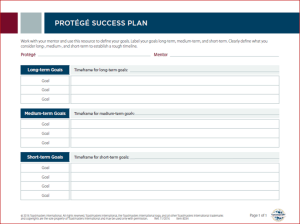 protege success plan