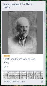 samule john allery ancestral card 1