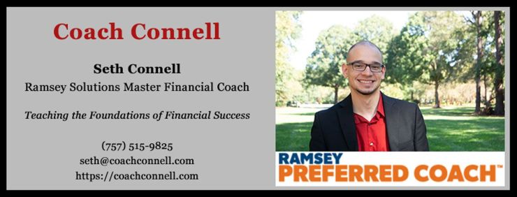 financial coach seth connell virginia beach