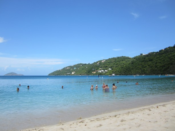 Boy do I wish I were running here right now! St. Thomas, and I ran on this beach back in August.