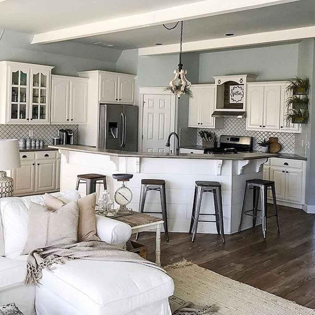 100 Stunning Farmhouse Kitchen Ideas on A Budget (16)