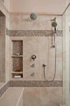 120 Stunning Bathroom Tile Shower Ideas (118)