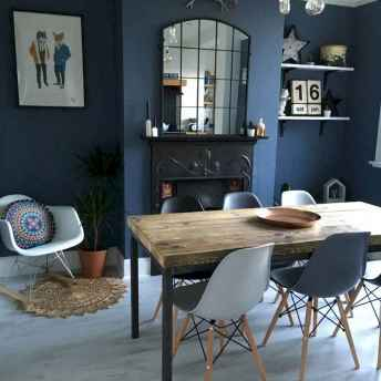 130 Small and Clean First Apartment Dining Room Ideas (101)