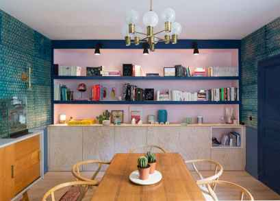 130 Small and Clean First Apartment Dining Room Ideas (122)