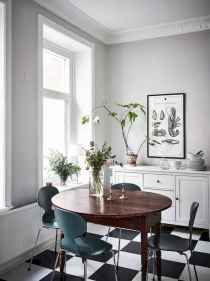 130 Small and Clean First Apartment Dining Room Ideas (125)