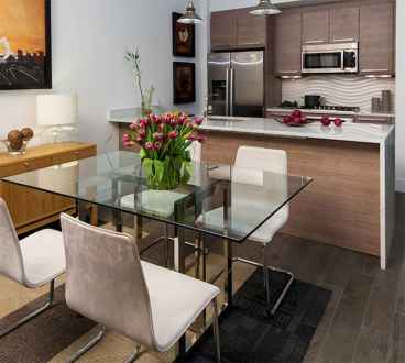 130 Small and Clean First Apartment Dining Room Ideas (14)