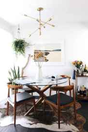 130 Small and Clean First Apartment Dining Room Ideas (15)