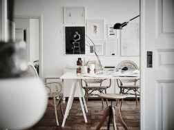 130 Small and Clean First Apartment Dining Room Ideas (23)