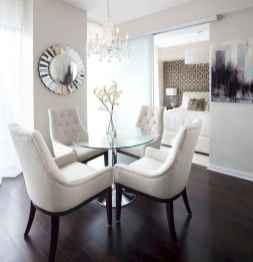 130 Small and Clean First Apartment Dining Room Ideas (24)