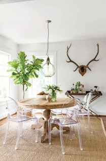 130 Small and Clean First Apartment Dining Room Ideas (26)