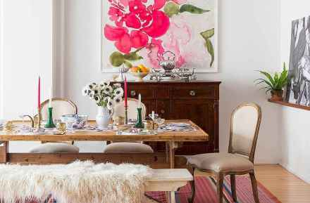 130 Small and Clean First Apartment Dining Room Ideas (43)