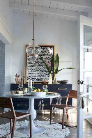 130 Small and Clean First Apartment Dining Room Ideas (66)