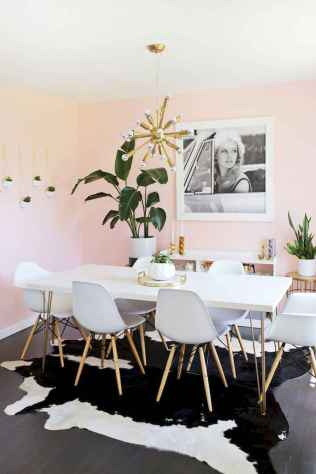 130 Small and Clean First Apartment Dining Room Ideas (71)