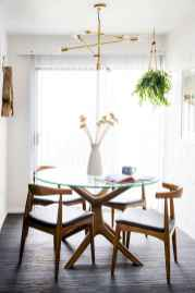 130 Small and Clean First Apartment Dining Room Ideas (88)
