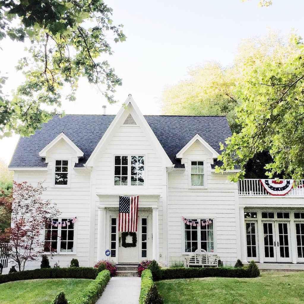 130 Stunning Farmhouse Exterior Design Ideas (101)