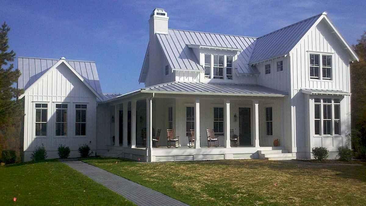 130 Stunning Farmhouse Exterior Design Ideas (105)