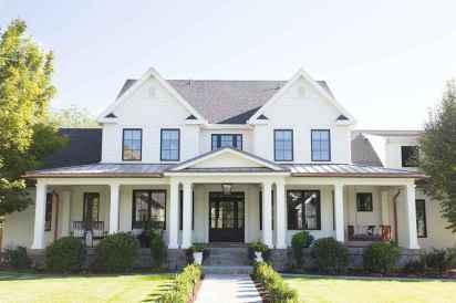 130 Stunning Farmhouse Exterior Design Ideas (106)