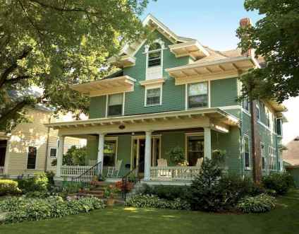 130 Stunning Farmhouse Exterior Design Ideas (13)