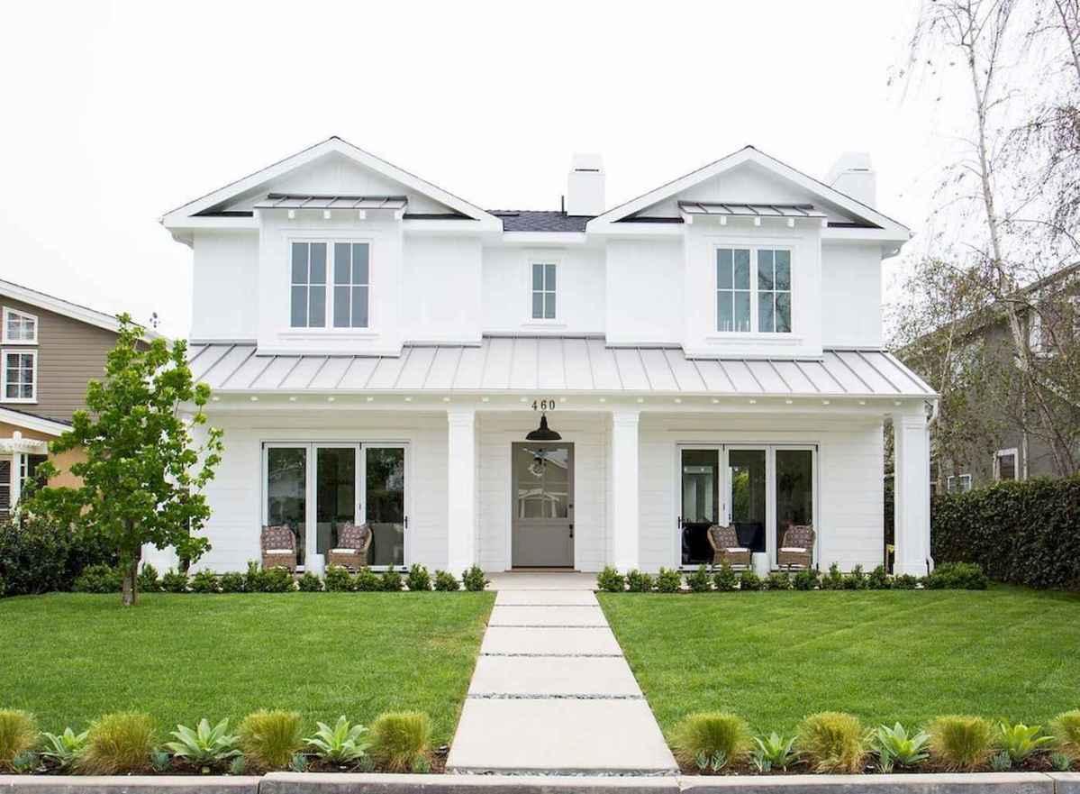 130 Stunning Farmhouse Exterior Design Ideas (29)