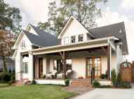 130 Stunning Farmhouse Exterior Design Ideas (33)