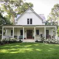 130 Stunning Farmhouse Exterior Design Ideas (38)