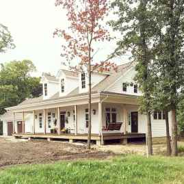 130 Stunning Farmhouse Exterior Design Ideas (49)