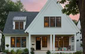 130 Stunning Farmhouse Exterior Design Ideas (61)