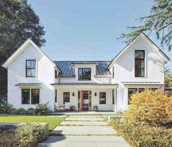130 Stunning Farmhouse Exterior Design Ideas (63)