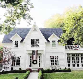 130 Stunning Farmhouse Exterior Design Ideas (71)