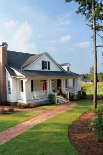 130 Stunning Farmhouse Exterior Design Ideas (79)