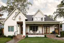 130 Stunning Farmhouse Exterior Design Ideas (84)