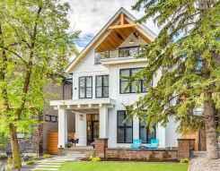 130 Stunning Farmhouse Exterior Design Ideas (85)
