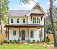 130 Stunning Farmhouse Exterior Design Ideas (86)