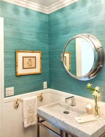 30 Amazing Coastal Nautical Bathroom Remodel Ideas (13)