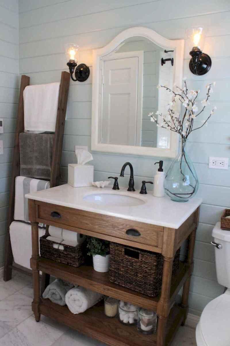 30 Amazing Coastal Nautical Bathroom Remodel Ideas (3)