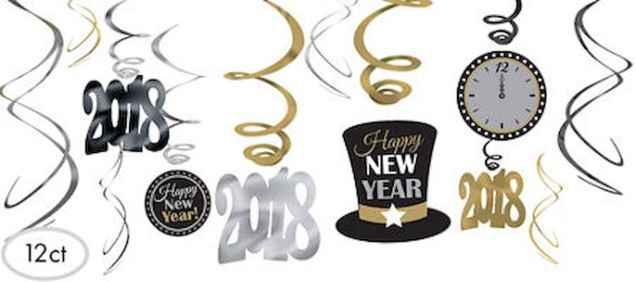 40 Best DIY 2018 New Years Eve Decor Ideas (5)