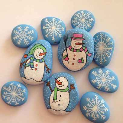50 DIY Painted Rock Ideas for Your Home Decoration (32)