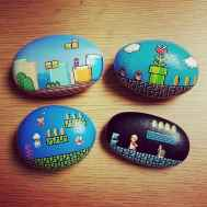 50 DIY Painted Rock Ideas for Your Home Decoration (33)