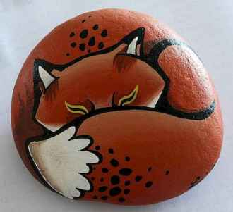 50 DIY Painted Rock Ideas for Your Home Decoration (37)