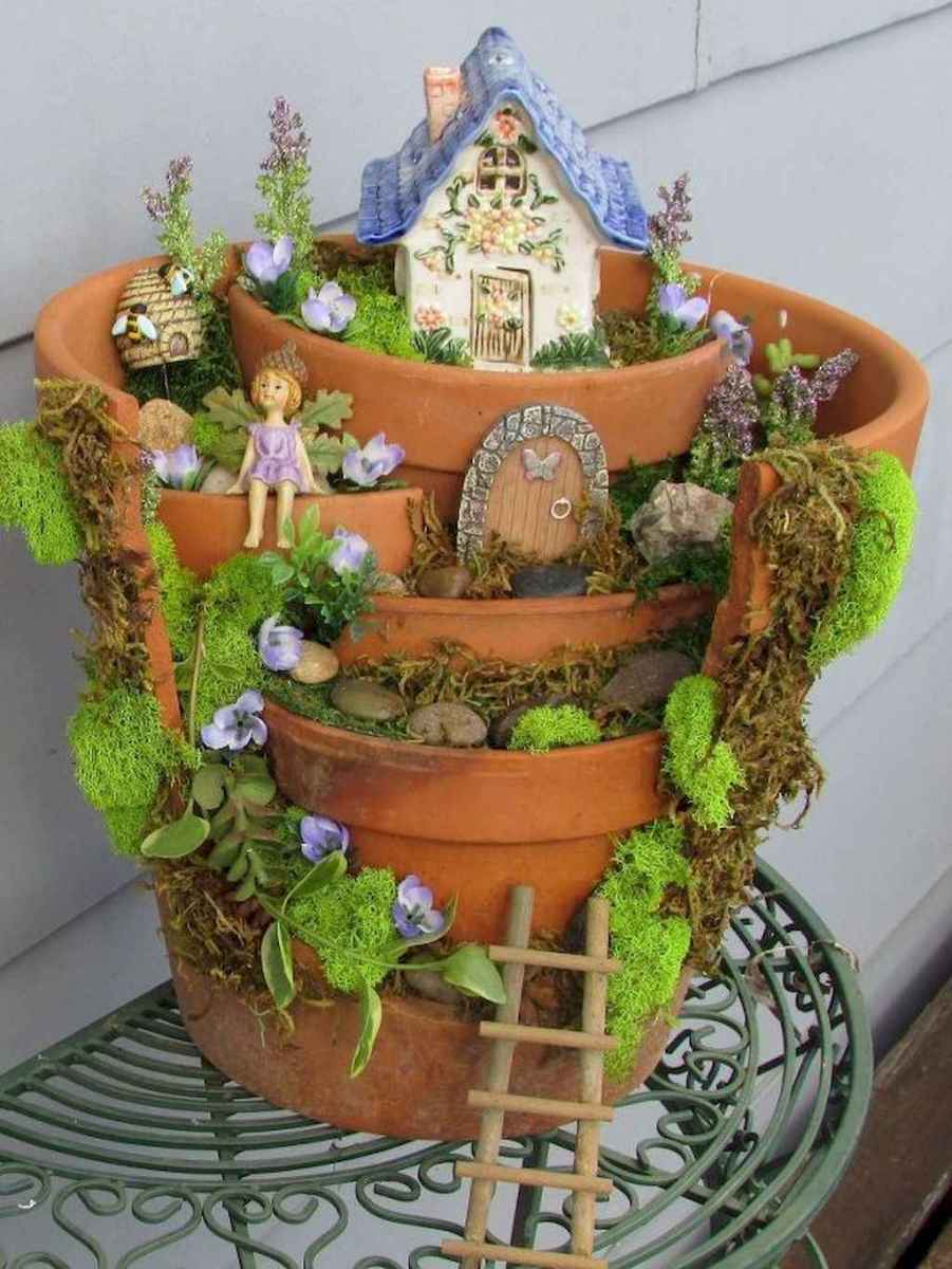 50 Easy DIY Fairy Garden Design Ideas (18)