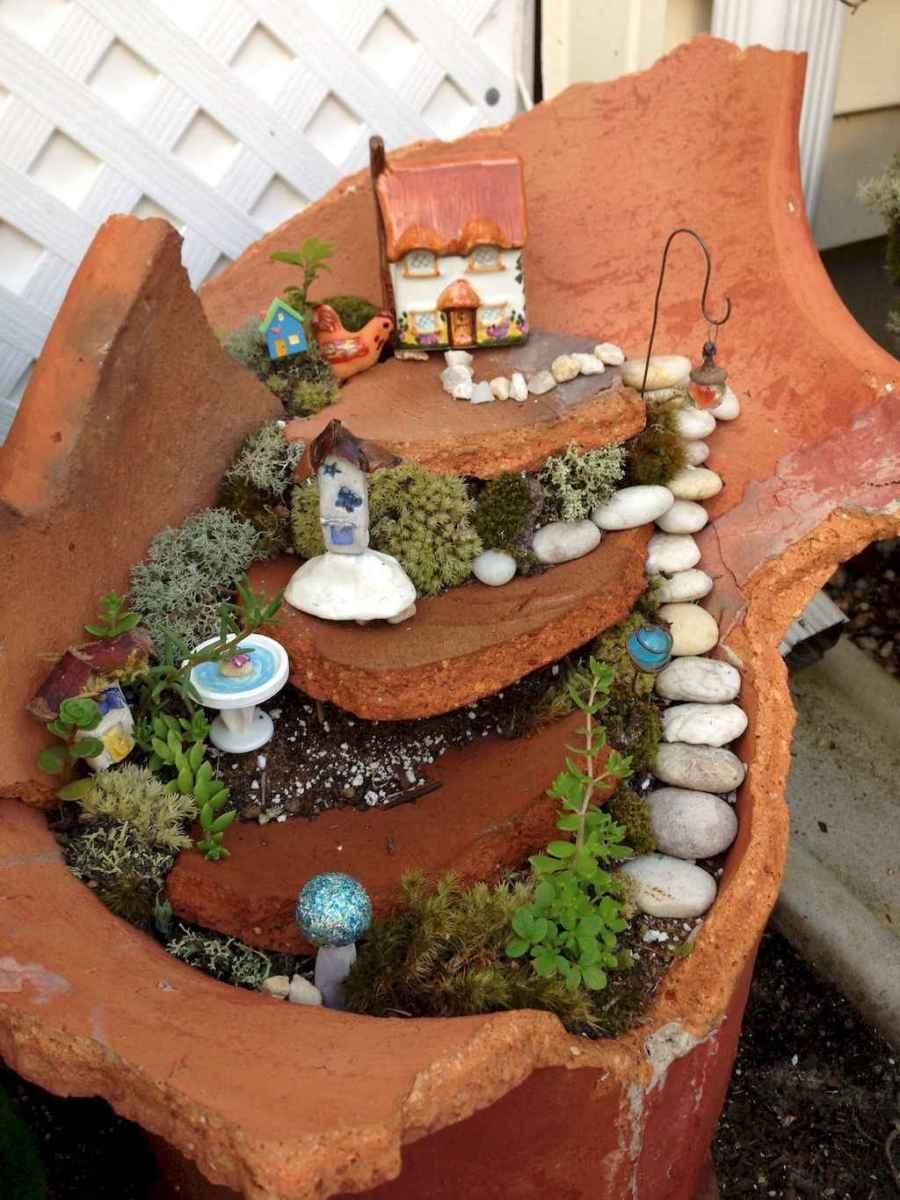 50 Easy DIY Fairy Garden Design Ideas (29)