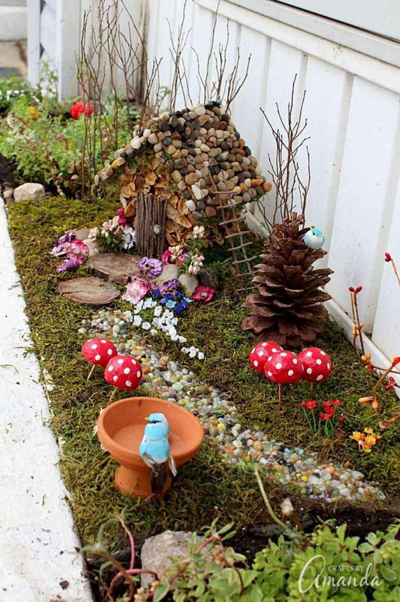 50 Easy DIY Fairy Garden Design Ideas (38)