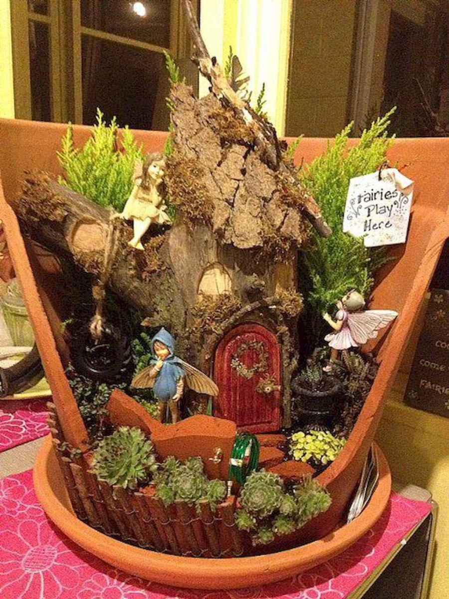 50 Easy DIY Fairy Garden Design Ideas (41)