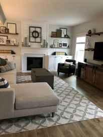 60 Modern Farmhouse Living Room First Apartment Ideas (24)