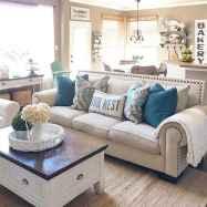 60 Modern Farmhouse Living Room First Apartment Ideas (25)