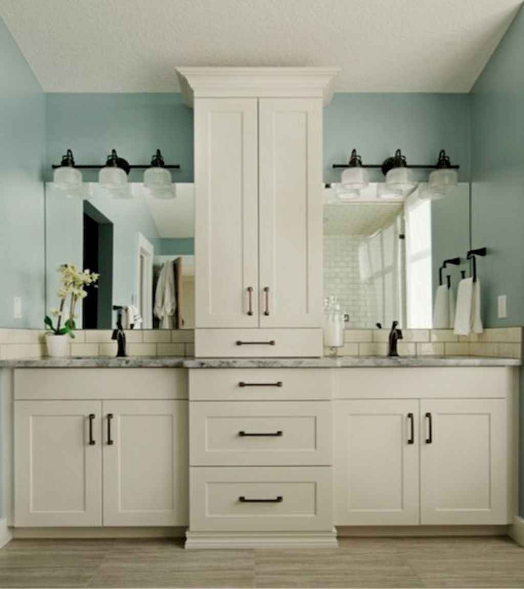80 Amazing Master Bathroom Remodel Ideas (49)