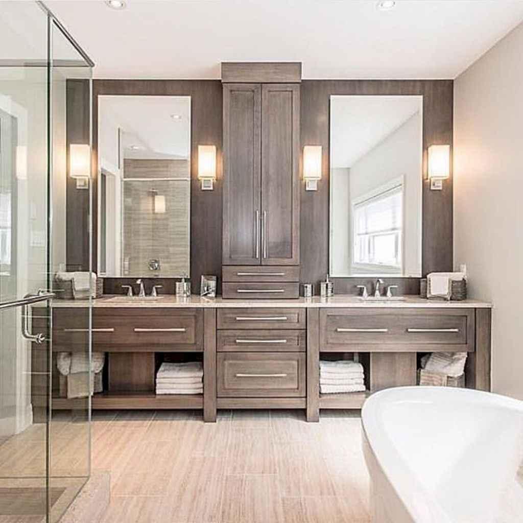 80 Amazing Master Bathroom Remodel Ideas (63)